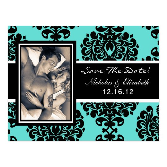 CUTE Picture Photo Save the Date Postcard