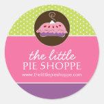 Cute Pie Box Stickers