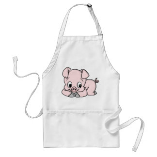 Cute Pig Adult Apron