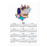 cute pig belly dancer cartoon character large business cards (Pack of 100)