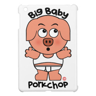 Cute Pig Big Baby Porkchop Cover For The iPad Mini
