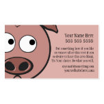 Cute Pig Double-Sided Standard Business Cards (Pack Of 100)