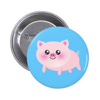 Cute pig cartoon buttons