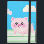"Cute pig cartoon case for iPad air<br><div class=""desc"">cute, pig, cartoon, pigs, piggie, piggy, &quot;cute pig&quot;, bacon, ham, pork, oink, kawaii, &quot;kawaii pig&quot;, sweet, adorable, &quot;cartoon pig&quot;, cartoony, anime, fun, piggies, animal, animals, farm, porker, pink, fat, chubby, round, &quot;farm animals&quot;, nursery, kids, kid, children, child, blue, sky, clouds, grass, outside, teen, teenage, teenager, &quot;cute animal&quot;, &quot;cute animals&quot;, fun,...</div>"