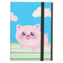Cute pig cartoon case for iPad air
