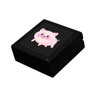 Cute pig cartoon jewelry boxes