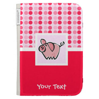 Cute Pig Case For Kindle