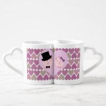 Cute Pig Couple Coffee Mug Set