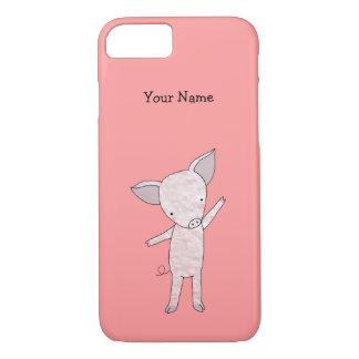 Cute Pig Custom iPhone Case Personalized iPhone 7