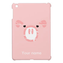 Cute Pig Face illusion. iPad Mini Case