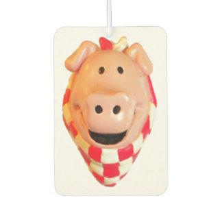Cute Pig Goes Hog Wild Air Freshener
