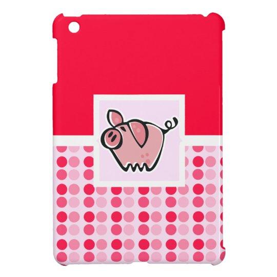Cute Pig iPad Mini Case