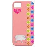 cute pig iPhone 5 cover