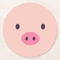Cute Pig Mug Coasters