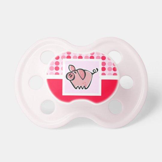 Cute Pig Pacifier