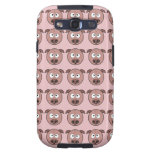 Cute Pig Pattern Galaxy S3 Covers