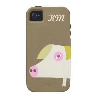 Cute Pig phone case Vibe iPhone 4 Cases