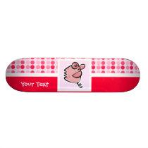 Cute Pig Skateboard