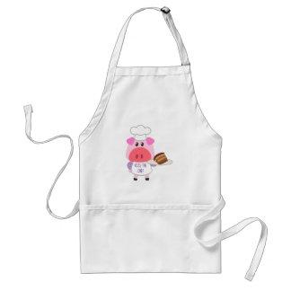 Cute Piggie Baker Standard Apron