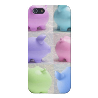Cute Piggy Collage Case For iPhone SE/5/5s