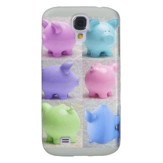Cute Piggy Collage Galaxy S4 Case