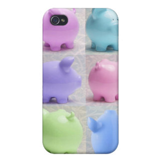 Cute Piggy Collage Covers For iPhone 4