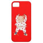 Cute Piggy Exercising iPhone 5 Case