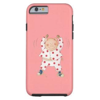 Cute Piggy Exercising iPhone 6 Case