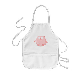 Cute piggy kids' apron
