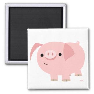 Cute piggy magnet