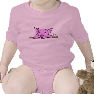 Cute Piggy Outfit Bodysuit