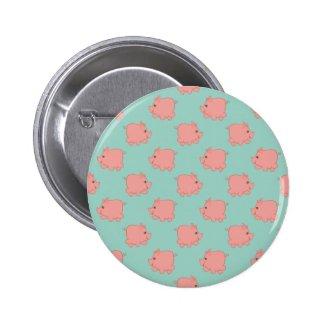 Cute Piggy Pinback Buttons