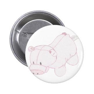 Cute Piggy Plush Speld Buttons