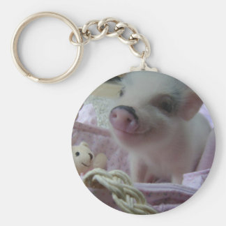 Cute Piglet Key Chain