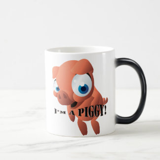 Cute Piglet Magic Mug