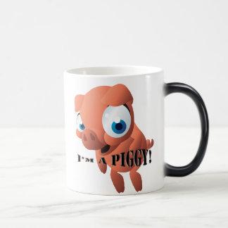 Cute Piglet Magic Mug