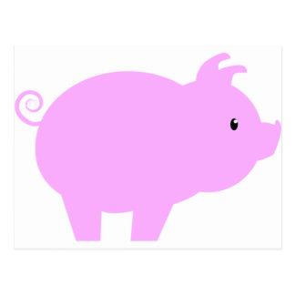 Kawaii Pig Postcards | Zazzle