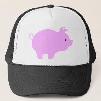 Cute Piglet Silhouette Trucker Hat