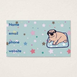 Cute Pillow Pug Business Card