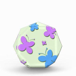 Cute Pink and Blue Butterflies Award