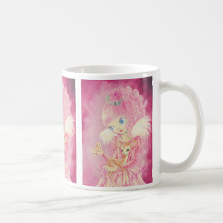 Cute Pink Angel Coffee Mug