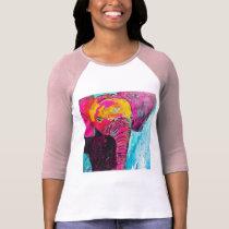 Cute Pink Baby Elephant T-Shirt