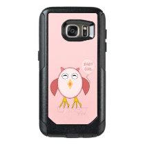 Cute Pink Baby Girl Owl Phone Case