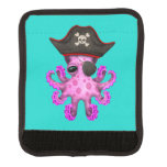 Cute Pink Baby Octopus Pirate Handle Wrap