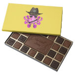Cute Pink Baby Octopus Sheriff Assorted Chocolates