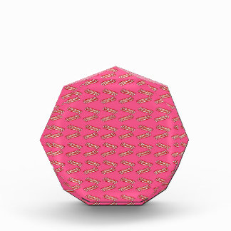 Cute pink bacon pattern award