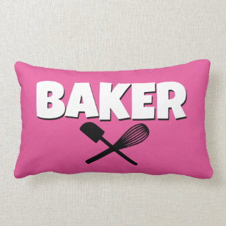 Cute Pink Baker Pillow