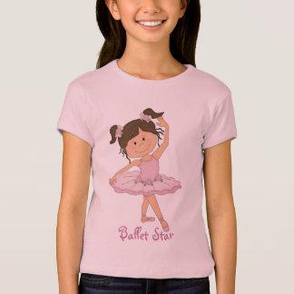 Cute Pink Ballerina 4 Ballet Star T-Shirt
