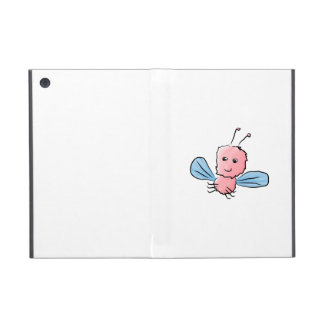 Cute Pink Bug Flying Insect iPad Mini Covers