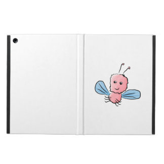 Cute Pink Bug Flying Insect Cover For iPad Air